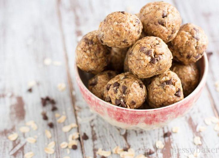 Μπάλες ενέργειας με φυστικοβούτυρο και σοκολάτα | Μαθαίνω Διατροφή