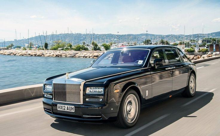 2017 Rolls Royce Phantom Black