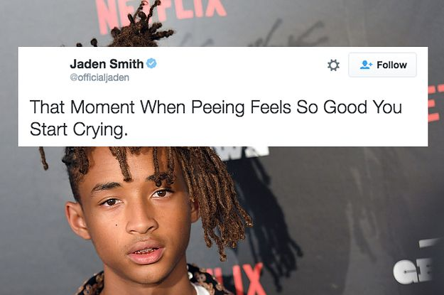"30 Jaden Smith Tweets That Will Make You Say ""Huh?"""