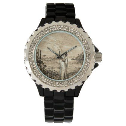 #vintage angel wristwatch - #Xmas #ChristmasEve Christmas Eve #Christmas #merry #xmas #family #kids #gifts #holidays #Santa