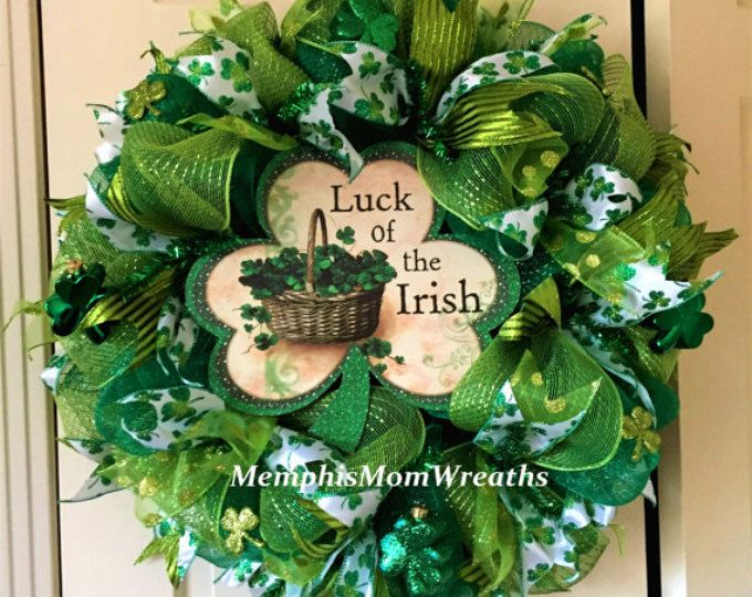 409 best wreaths st patrick 39 s day wreaths and door decor images on pinterest cabin color. Black Bedroom Furniture Sets. Home Design Ideas