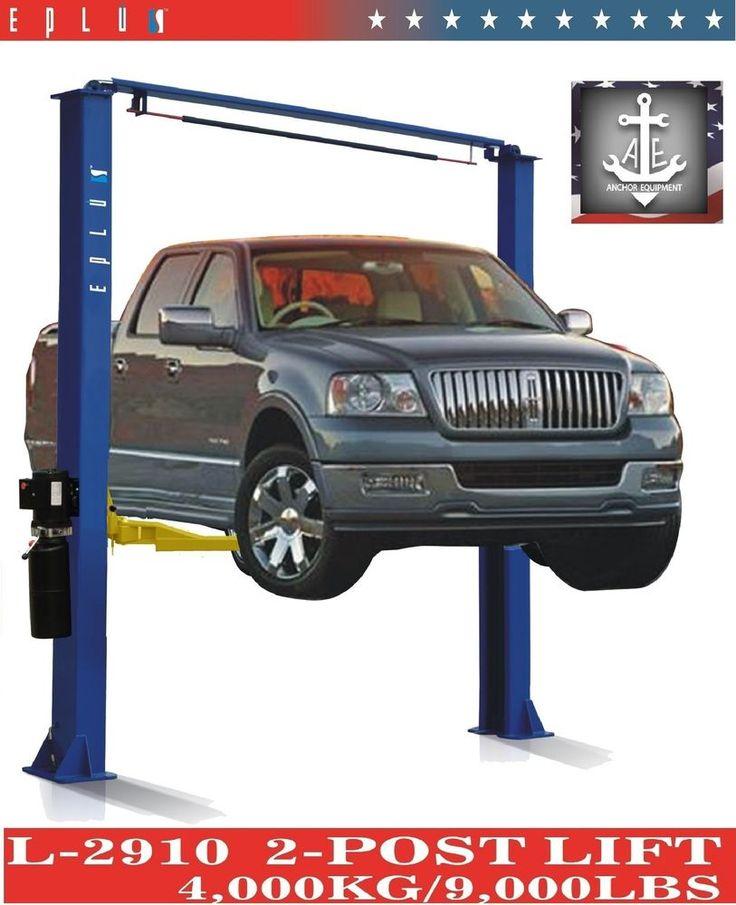 2 Post Over Head Car Auto Truck Hoist Lift L2910 9K 9000 9,000 LB  #Eplus