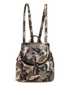 Terra Small Camo Backpack | GUESS.com