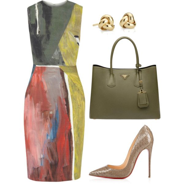 style theory by Helia by heliaamado on Polyvore featuring мода, Cédric Charlier, Prada and Blue Nile