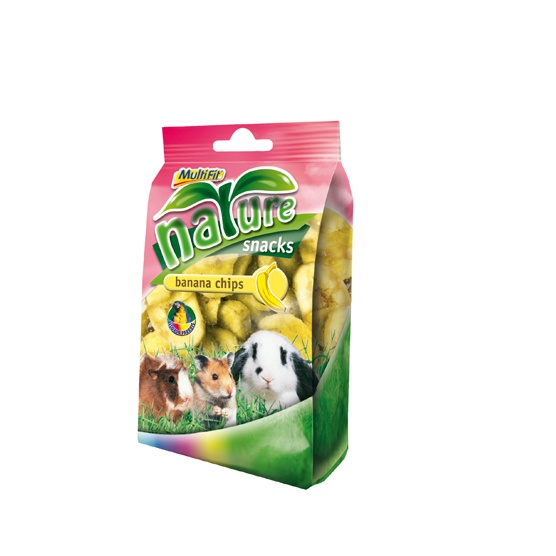 MultiFit nature snacks Bananenchips 120 g EUR 1,79