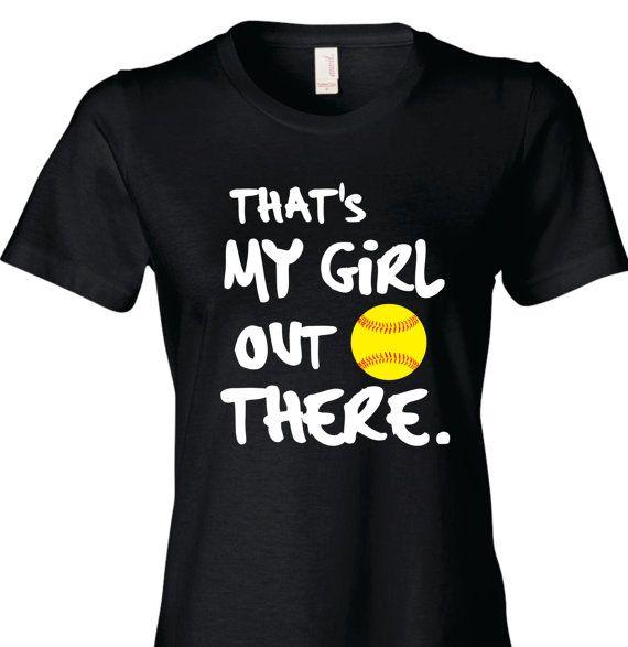 Softball Mom Shirt Baseball Mom T-Shirt That's My by TShirtNerds