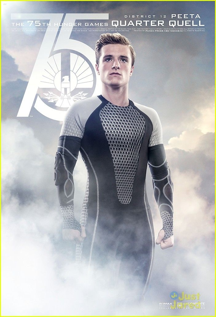 Josh Hutcherson: 'Catching Fire' Quarter Quell Posters! | josh hutcherson quarter quell posters 01 - Photo