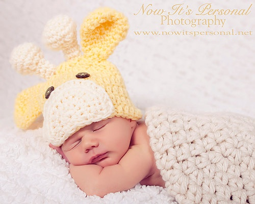Love this giraffe hat but there will never be another Riffle newborn