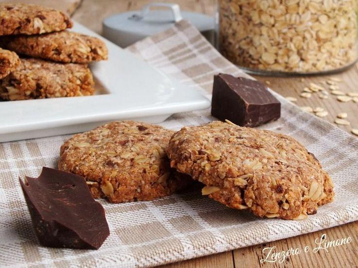 Biscotti+integrali+al+cioccolato