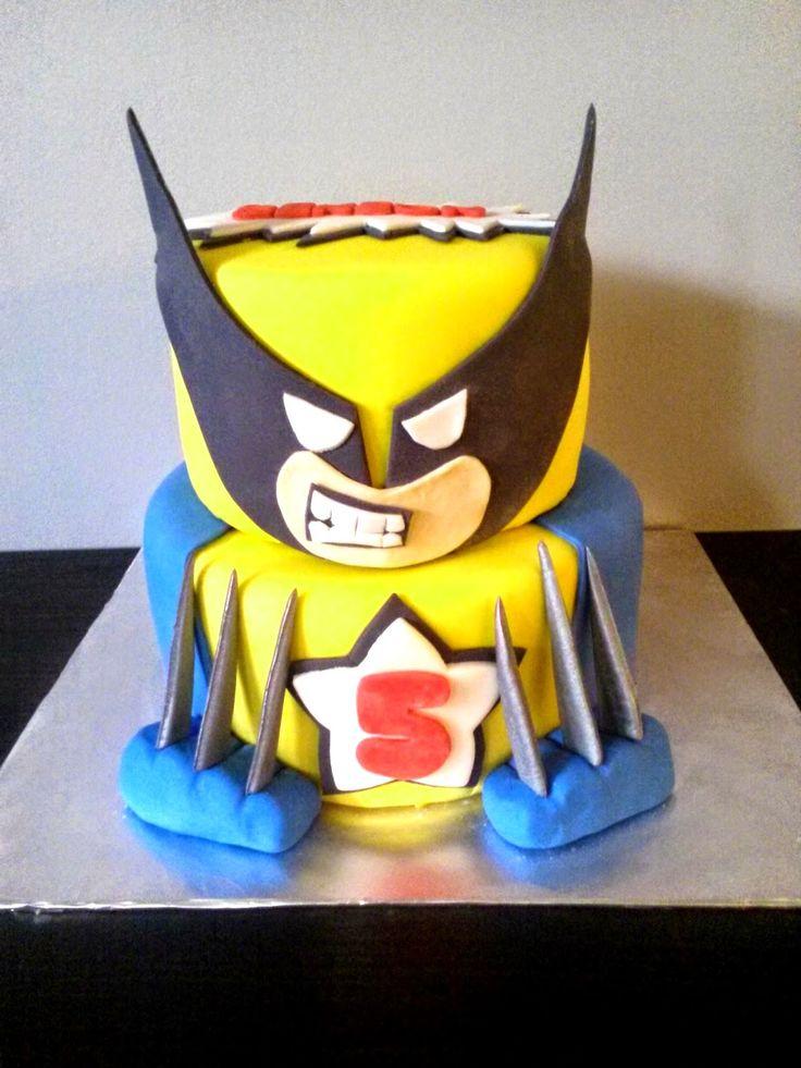 Xmen Wolverine Cake