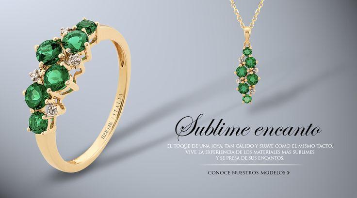 Están hermosos estos anillos de compromiso y esas joyas. Me encanta el verde esmeralda.