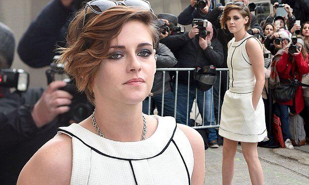 Kristen Stewart ditches trademark androgynous style