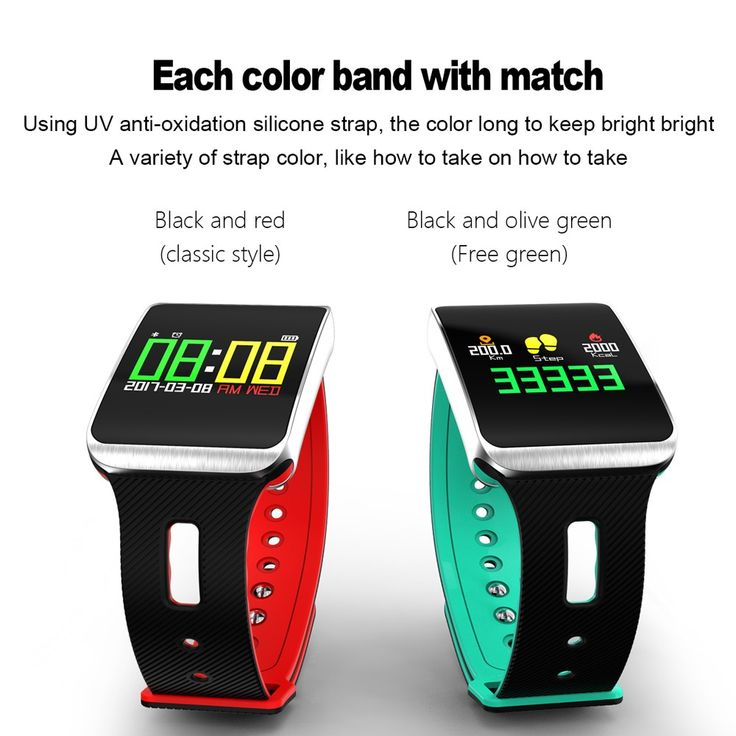TF1 Smart Band OLED Touch Screen Motion Heart Rate Blood Sale Online green - Tomtop.com  cellphones mobile android accessories smartwatch