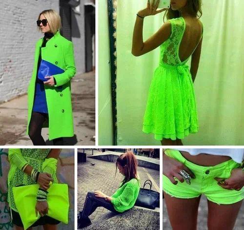 lo fosforescente esta de moda