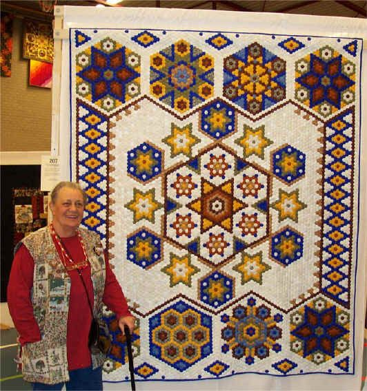 Hexagon Quilt Ideas | Easy Hexagon Designs by Kaye Wood – Kaye's Quilting Friends