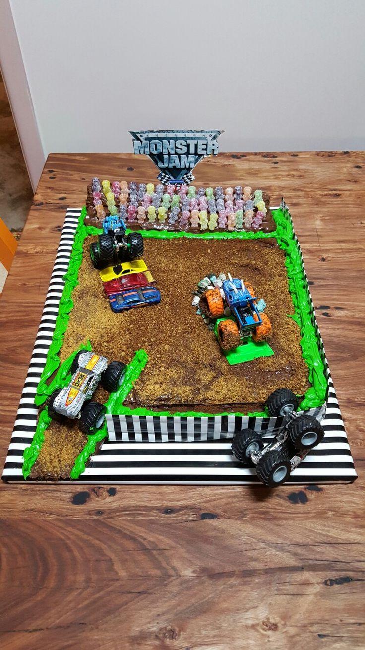 Monster Jam Cake Craft Pinterest Monster Jam Cakes