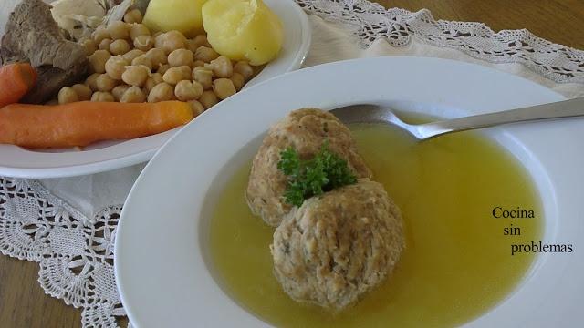 Cocido con pelotas de Alicante
