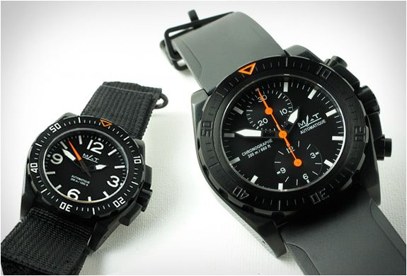 Military grade watches