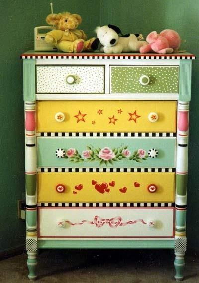 Painting ideas for school furniture