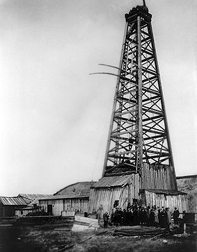 First oil discovery in Alberta -  Turner Valley