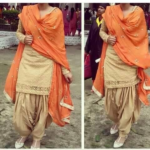 Punjabi  look great combination ..