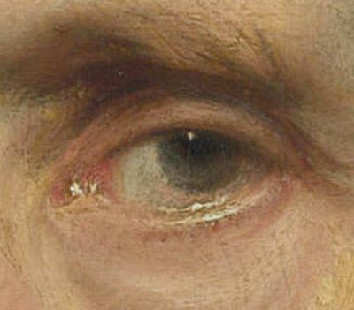 detail from a portrait by Anthony Van Dyck. - Gurney Journey: Softness in Eyes