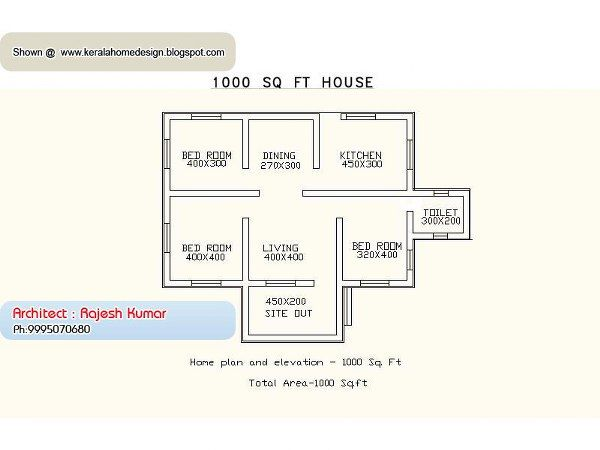 images designer small sq foot homes | house plans house plans Kerala Home Plans Under 1000 sq Feet Small ...