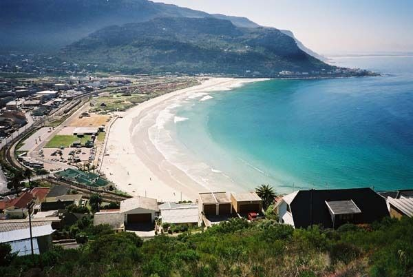 Fish Hoek and Clovelly beaches - Cape Town.