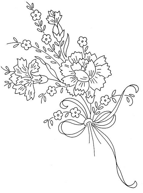 Link to flicker group of Vintage Embroidery patterns