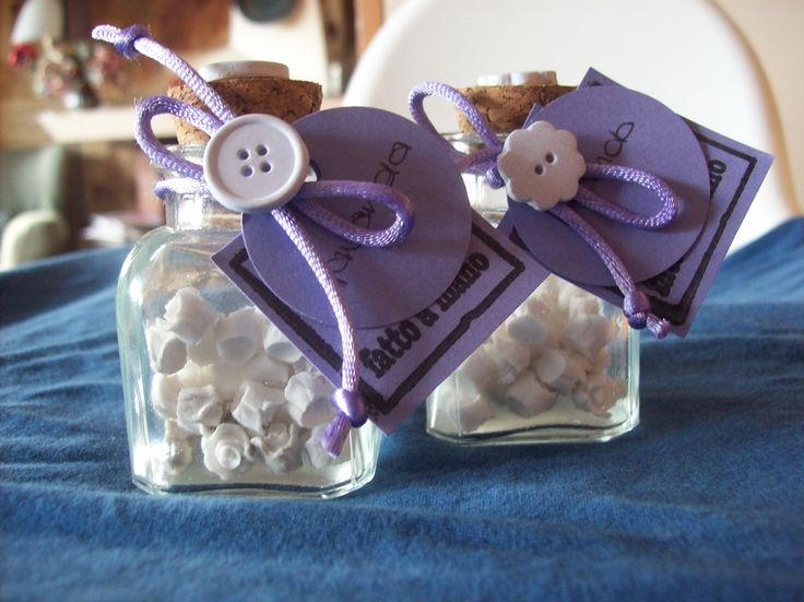 Roselline alla lavanda - Lavender scented plaster little roses.