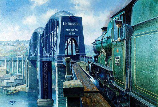 Saltash bridge. by Mike  Jeffries