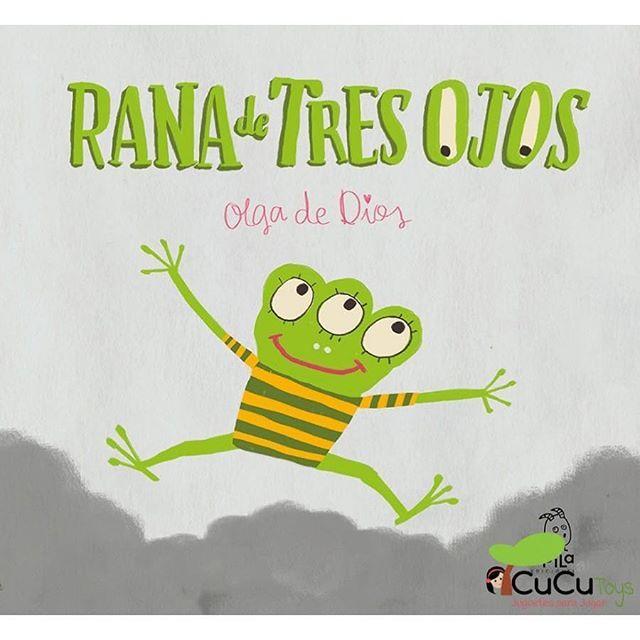 Conoces la historia de la Rana de tres ojos? Una historia motivadora para los que que quieren cambiar las cosas. https://cucutoys.es/1438-rana-de-tres-ojos-olga-de-dios-cuento-infantil.html  #cucutoys #cuentos #ranadetresojos #oldadedios #ecología