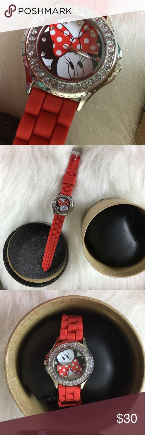 Brand New Disney Warch Brand New Minnie Mouse Disney Watch Disney Accessories Watches