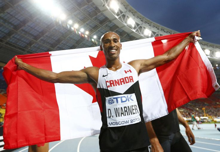 Two days after winning bronze in the decathlon at the world track and field championships, London's Damian Warner is already looking ahead to next month and the season's last major competition.