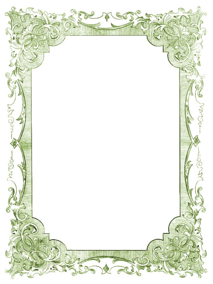 134 best Printables- frames, borders images on Pinterest ...