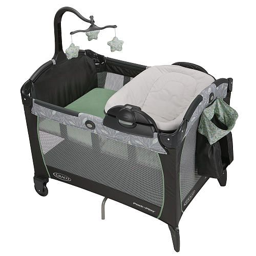 graco pack n play portable napper changer greenhill graco babies r us so excited we. Black Bedroom Furniture Sets. Home Design Ideas