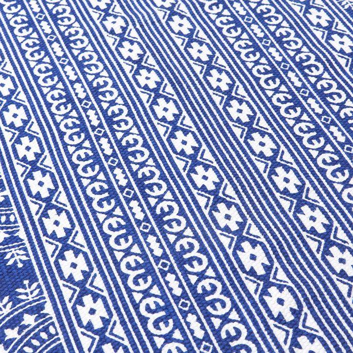 KATOENEN TAPIJT MET BLAUWE PRINT - Tapijten - Bed | Zara Home Holland