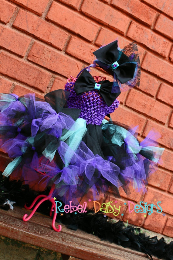 Boutique Halloween Tutu Costume Mad Hatter by RebelDaisyDesigns - halloween tutu ideas