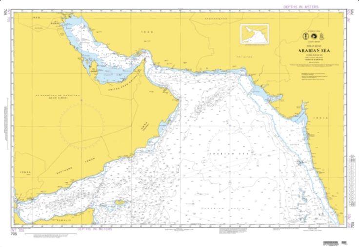 Arabian Sea (Omega) (NGA-705-3) by National Geospatial-Intelligence Agency