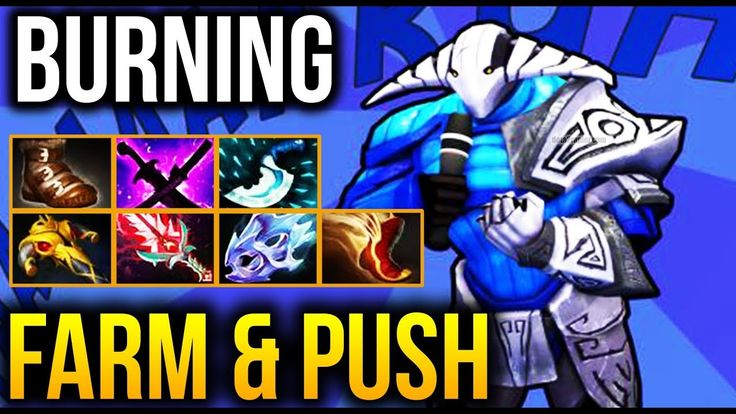 MOVEMENT And FARMING From CARRY King - Burning [Sven] Dota 2