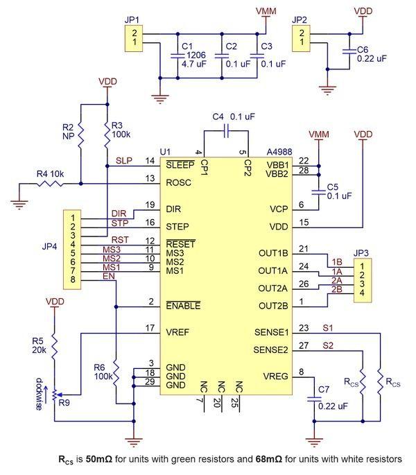 Pololu A4988 Stepper Motor Driver Carrier Stepper Motor Steppers Cnc Software