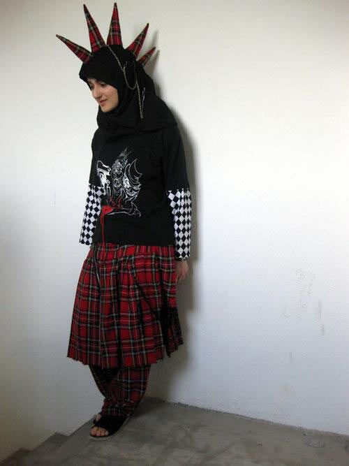 Muslim Punk Girl… Where there's a will, there's a way. You go girl!