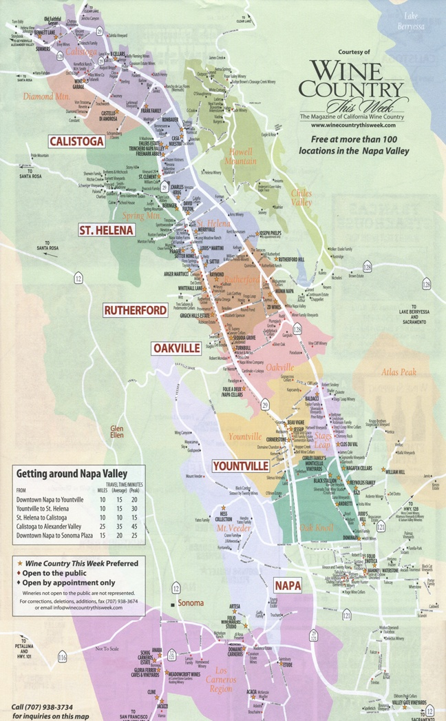 25 Best Ideas About Napa Valley Map On Pinterest Napa
