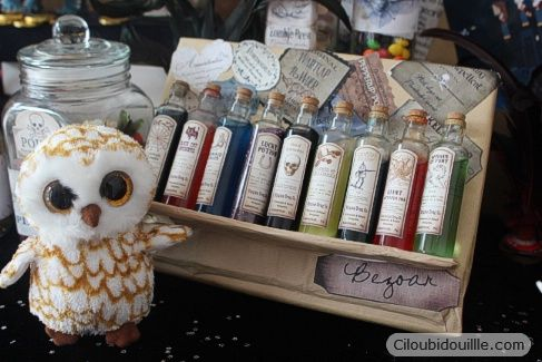 Anniversaire Harry Potter | Ciloubidouille