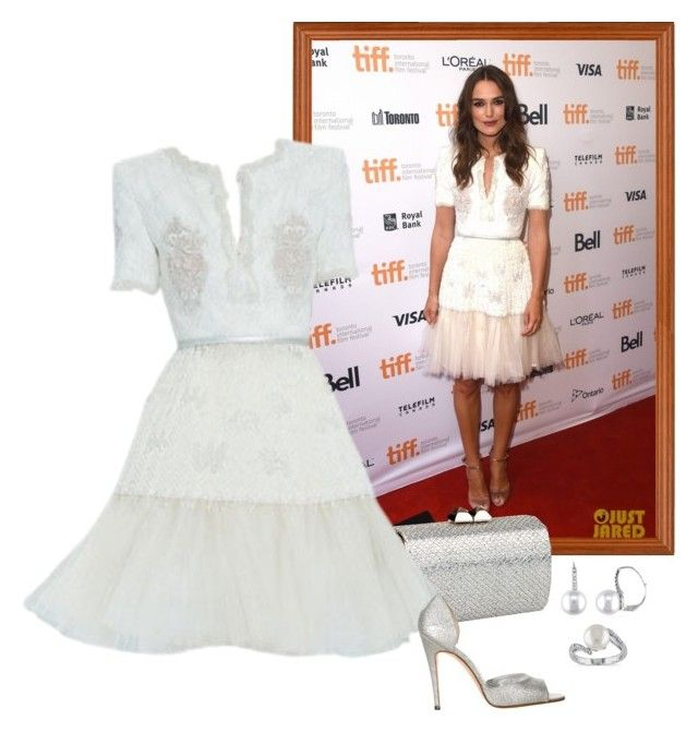 """Keira Knightley – 'The Imitation Game' 2014 Toronto International Film Festival Premiere."" by foreverforbiddenromancefashion ❤ liked on Polyvore featuring Jimmy Choo, Manolo Blahnik, Allurez and Miadora"