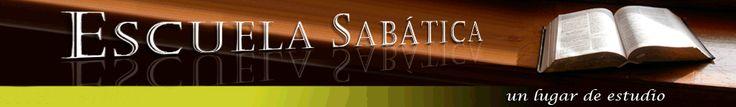Escuela Sabática adultos, jóvenes, comentario, año bíblico, devoción matutina y más...