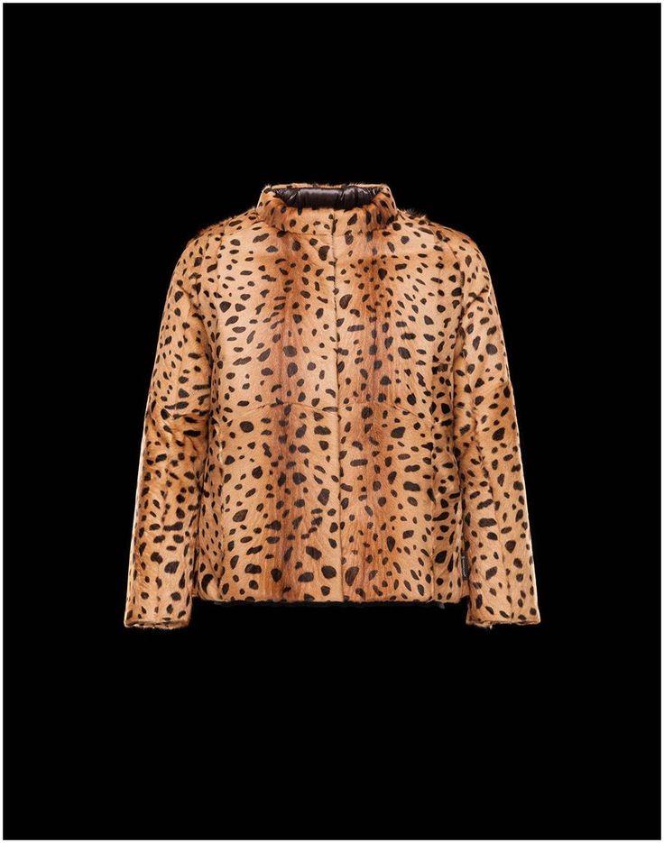 Moncler jacken - Moncler Oredon Mantel Damen Kamel