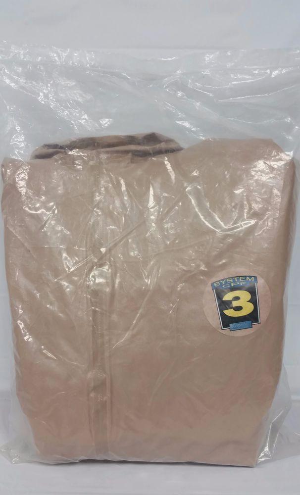 Kappler CPF 3 Level B Rear Entry Exp Back Encapsulated Hazmat Suit Only 3XL #Kappler