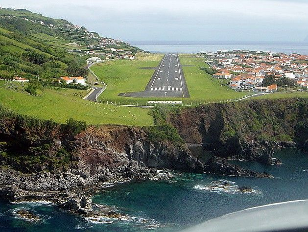 STRANGE AIRPORTS AND RUNWAYS - CLIFF