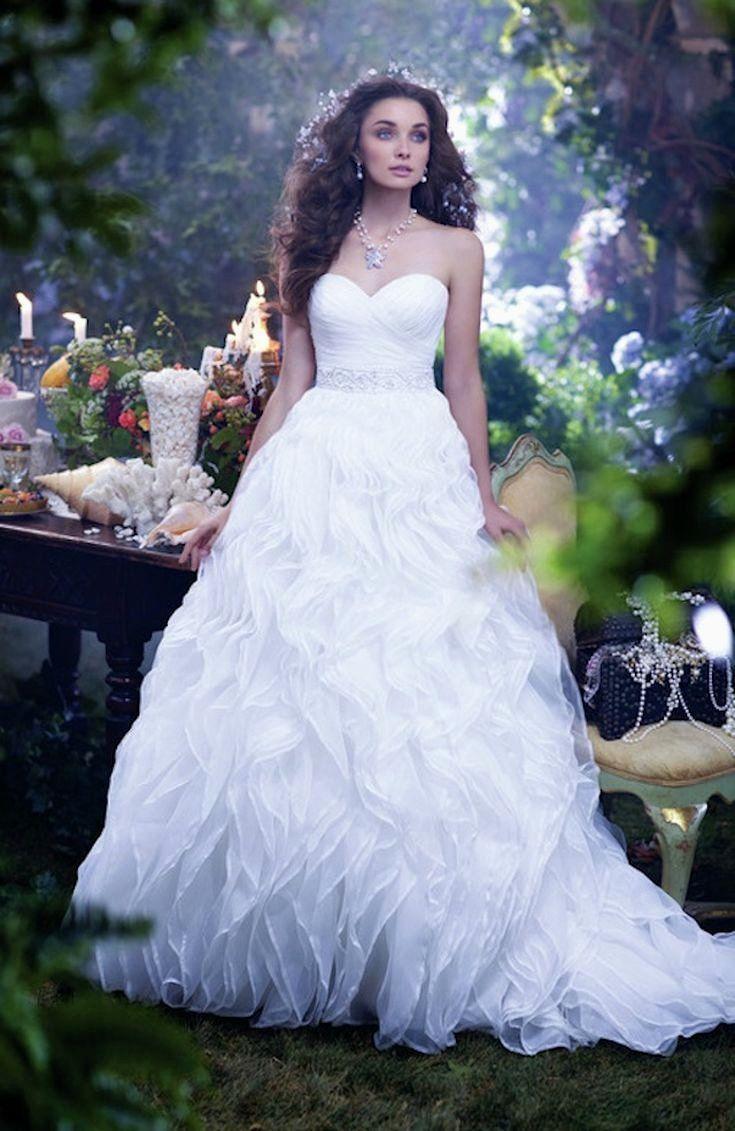 Belle Inspired Anniversary Gown 2017 Disney S Fairy Tale Weddings By Alfred Disney Princess Wedding Princess Wedding Dresses Disney Princess Wedding Dresses [ 3000 x 2000 Pixel ]